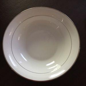 Other - Towel Bone China Classique Platinum Serving Bowl